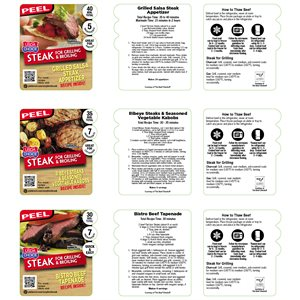 EFC STEAK FOR GRILL / BROILING USDA CHOICE SHIELD