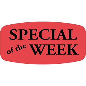 SPECIAL OF THE WEEK FLUORESCENT