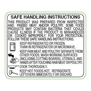 MT / PLTRY SAFE HNDLG INST BK / WH