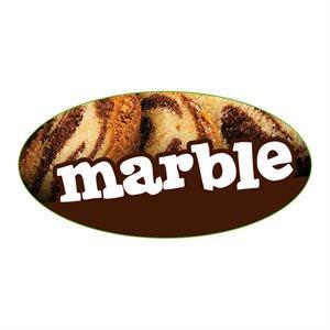 MARBLE FLAVOR LABEL
