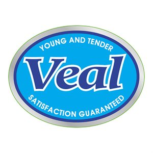 YOUNG & TENDER VEAL LABEL