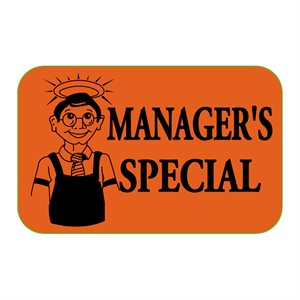 MANAGERS SPECIAL FLUORESCENT